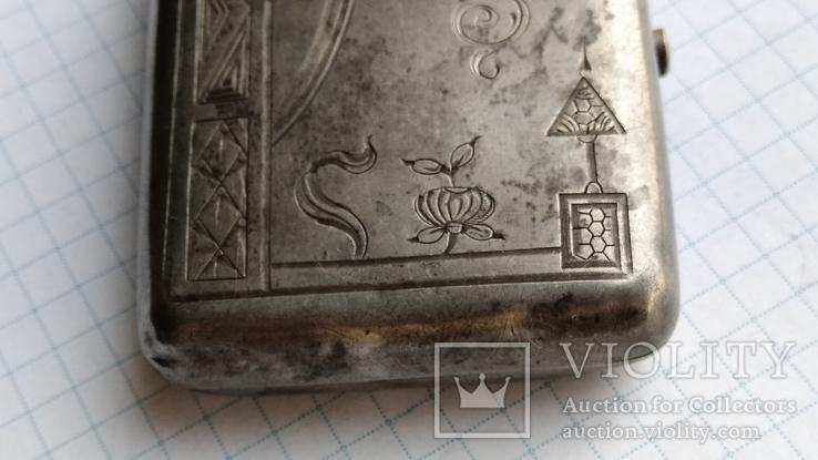 Таблетница табакерка серебро 84пр. именник АК, фото №5