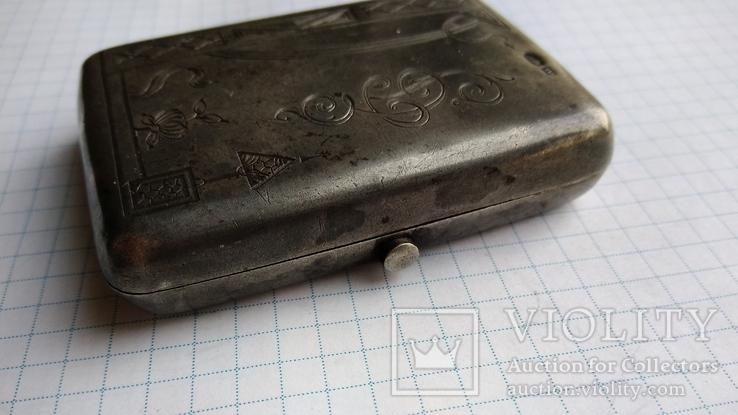 Таблетница табакерка серебро 84пр. именник АК, фото №7