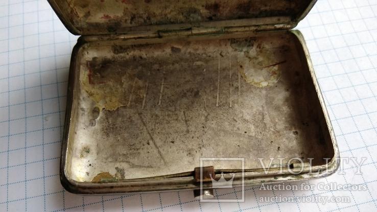 Таблетница табакерка серебро 84пр. именник АК, фото №13