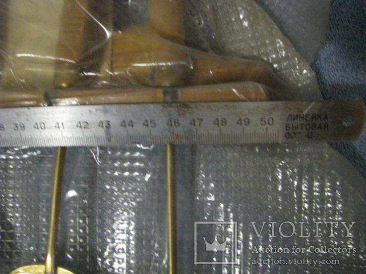 Набор кухонный с декоративным покрытием под золото., фото №4