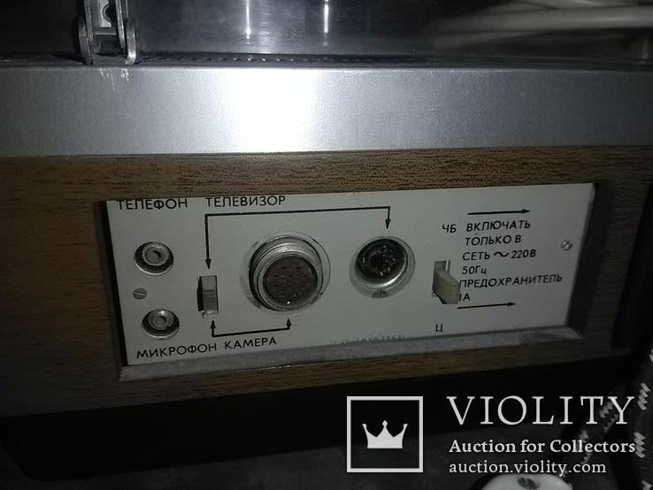 Бобинный видеомагнитофон Электроника 508 Видео, фото №12