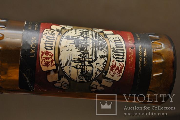 """Бутылка ликер """" Старый Таллин """", фото №4"""
