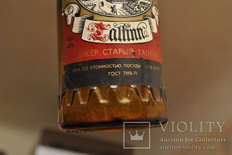 """Бутылка ликер """" Старый Таллин """", фото №7"""