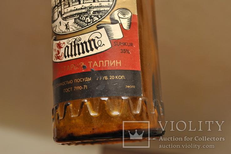 """Бутылка ликер """" Старый Таллин """", фото №8"""
