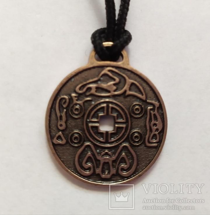 100 шт. Money amulet. Корейская монета счастья. Денежная монета.  Амулет.