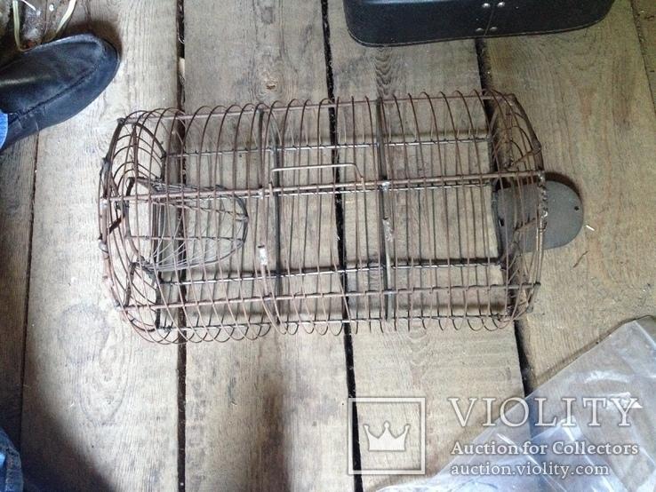 Клетка крыселовка капкан бытовой, фото №2