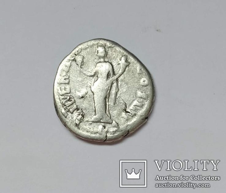 Антонин Пий, денарий, серебро, фото №3