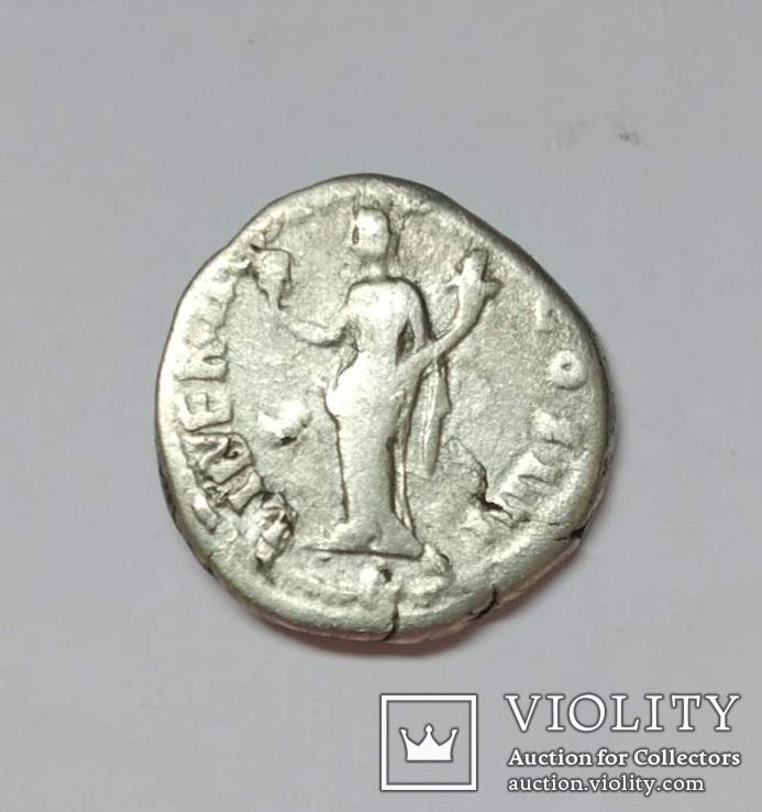 Антонин Пий, денарий, серебро, фото №5