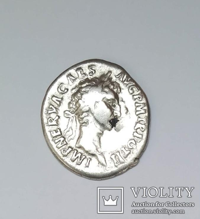 Нерва, денарий, серебро