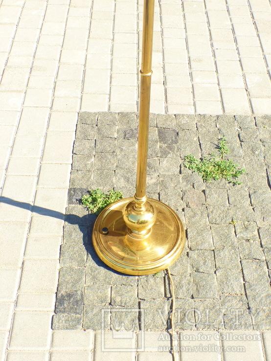 Элегантный торшер винтажного возраста, 5 лампочек, фото №4