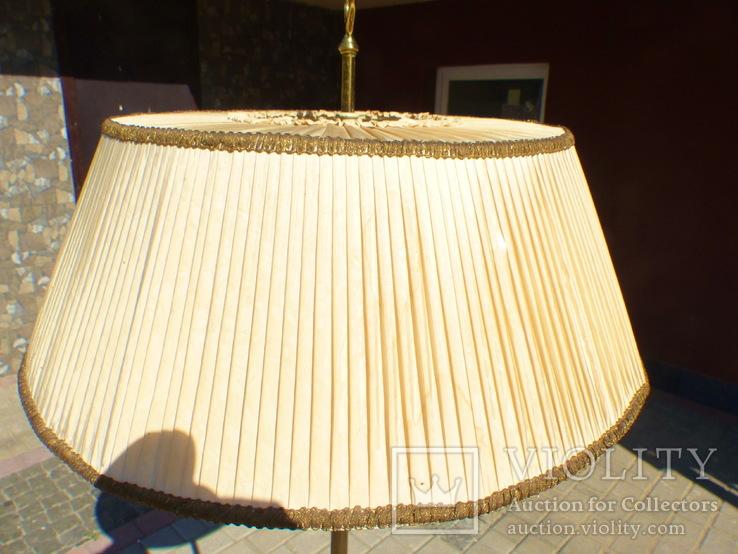 Элегантный торшер винтажного возраста, 5 лампочек, фото №10