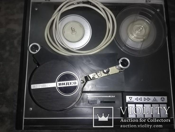 Бобинный видеомагнитофон Электроника 508 Видео, фото №3