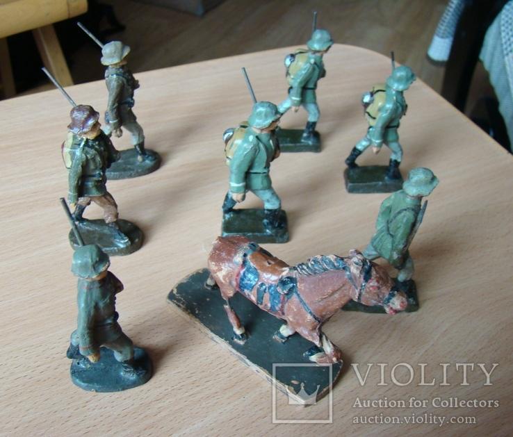 Вермахт солдатики Германия 1930-40 годы