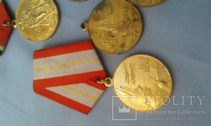 Медали СССР 11 шт. одним лотом, фото №3