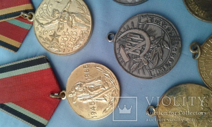 Медали СССР 11 шт. одним лотом, фото №8