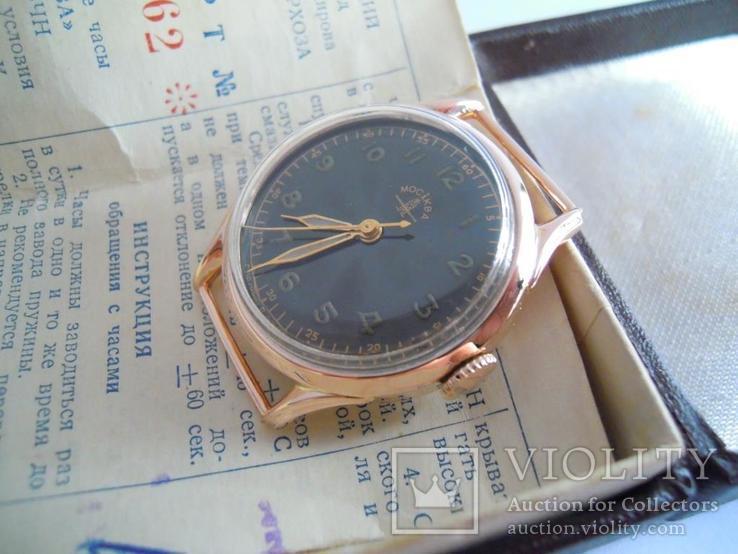 Золотые часы Москва 583, фото №7