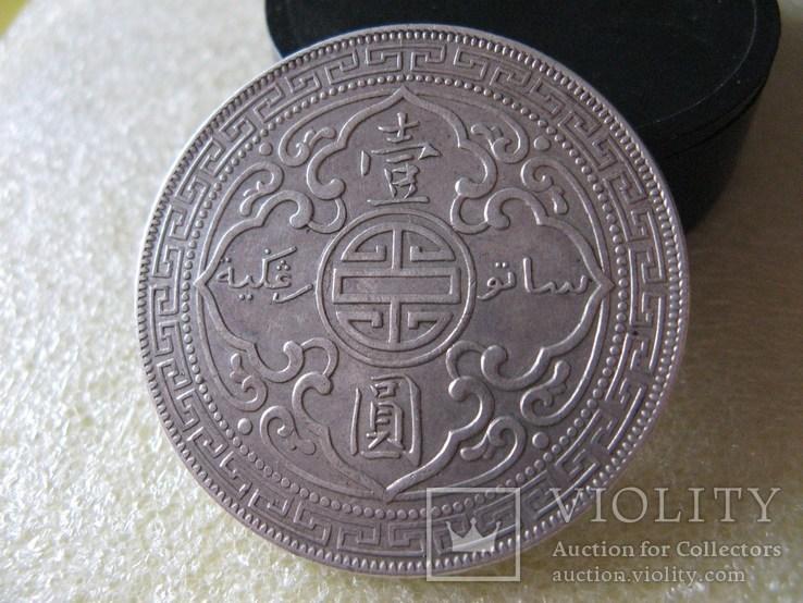 Великобритания Торговый доллар 1911г. Оригинал., фото №7