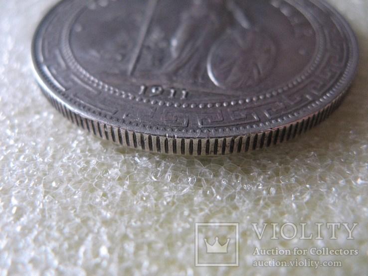 Великобритания Торговый доллар 1911г. Оригинал., фото №8