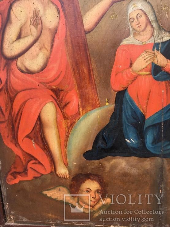 Коронование Пр.Богородицы в старом киоте, фото №6
