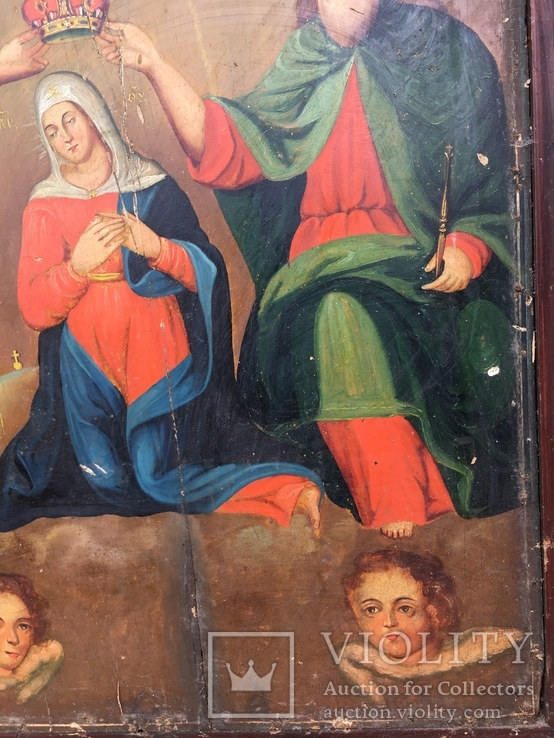 Коронование Пр.Богородицы в старом киоте, фото №7