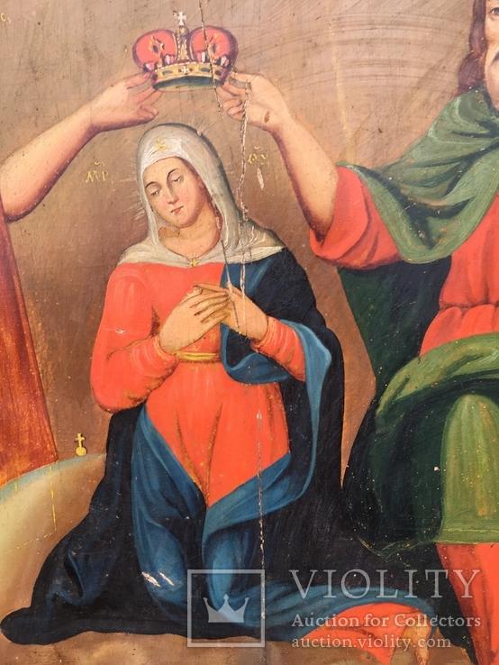 Коронование Пр.Богородицы в старом киоте, фото №8