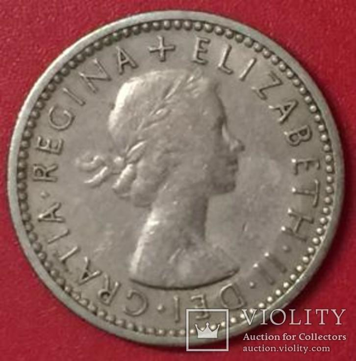Великобританія 6 Pence 1961, фото №3