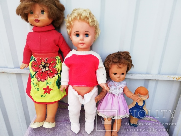 4 куклы одним лотом, фото №2