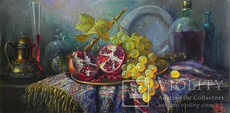 """""""Десерт"""" х.м. 40х80 см., Новиков Ю."""