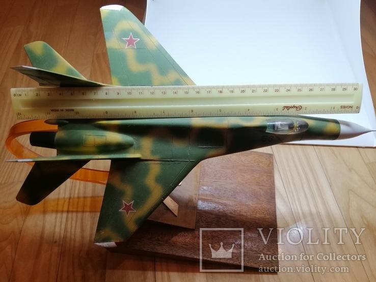 Модель реактивного самолёта. Кабинетная модель. СССР.