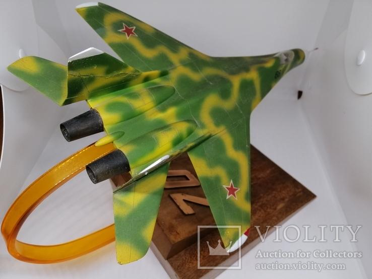 Модель реактивного самолёта. Кабинетная модель. СССР., фото №3