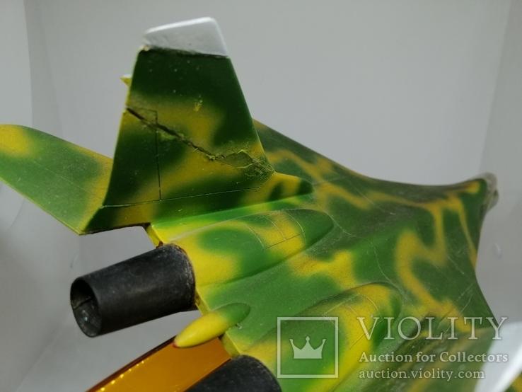 Модель реактивного самолёта. Кабинетная модель. СССР., фото №4
