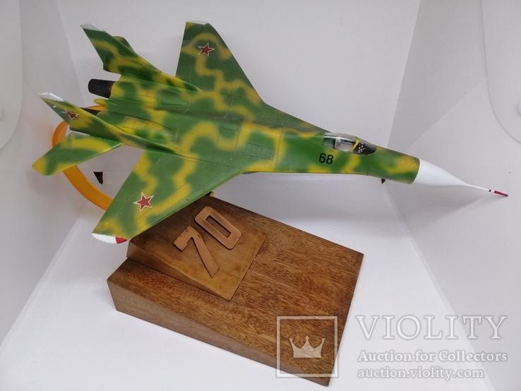 Модель реактивного самолёта. Кабинетная модель. СССР., фото №6