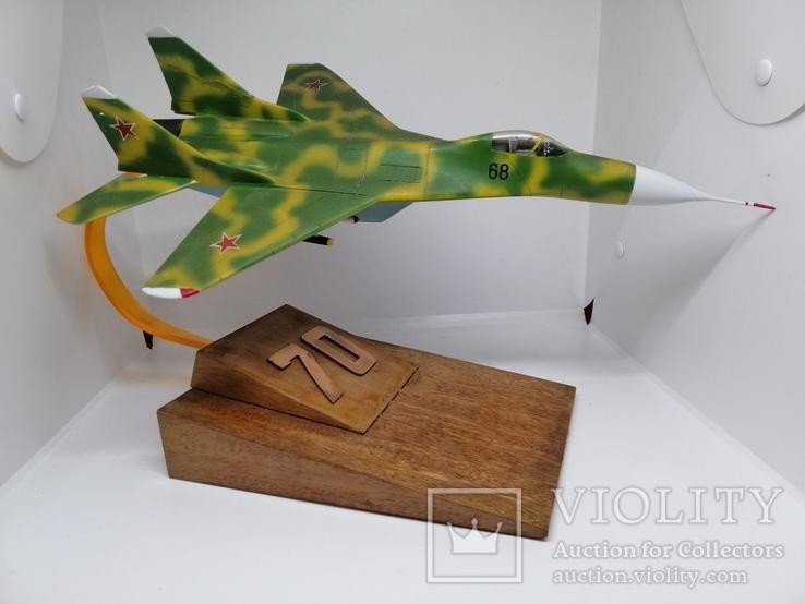 Модель реактивного самолёта. Кабинетная модель. СССР., фото №7