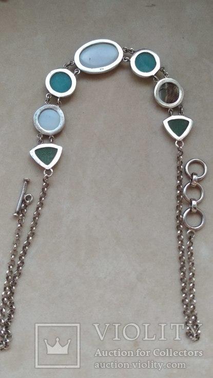 Серебряное украшение, колье, Европа, фото №5