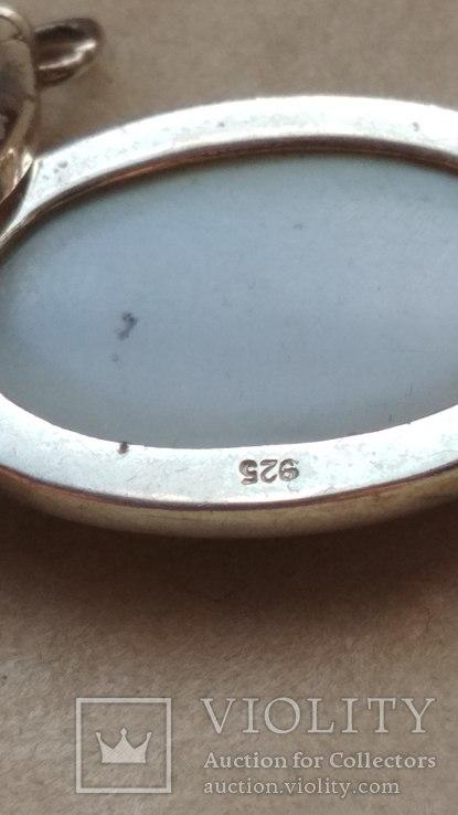 Серебряное украшение, колье, Европа, фото №6