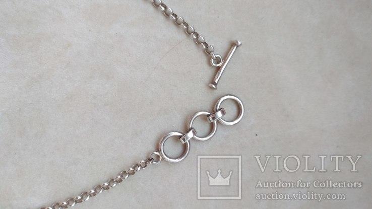 Серебряное украшение, колье, Европа, фото №8