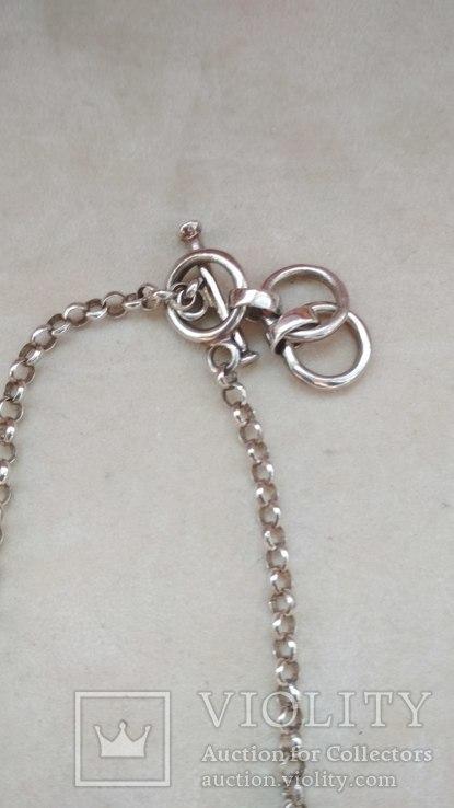 Серебряное украшение, колье, Европа, фото №9