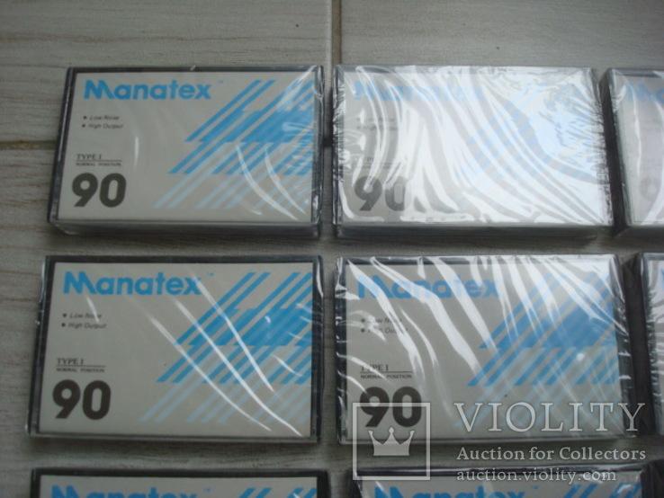 Кассеты запечатанные Manatex 10 шт, фото №3