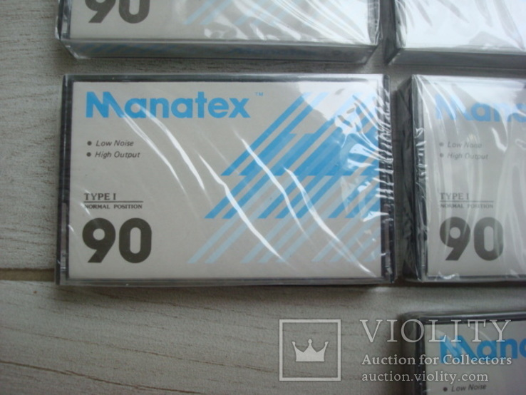 Кассеты запечатанные Manatex 10 шт, фото №6