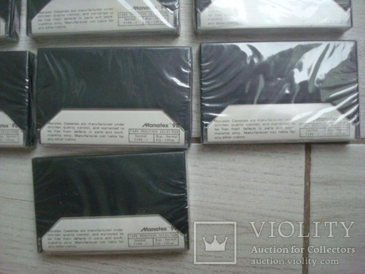 Кассеты запечатанные Manatex 10 шт, фото №8