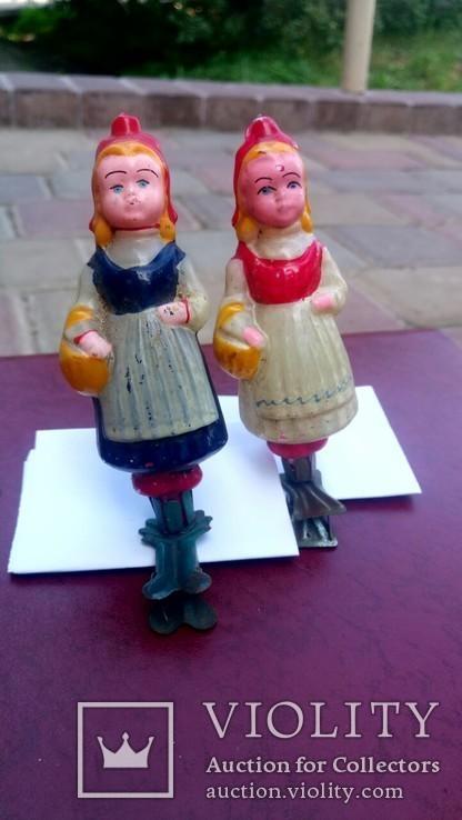 Елочная игрушка Девочка с корзинкой, Красная шапочка