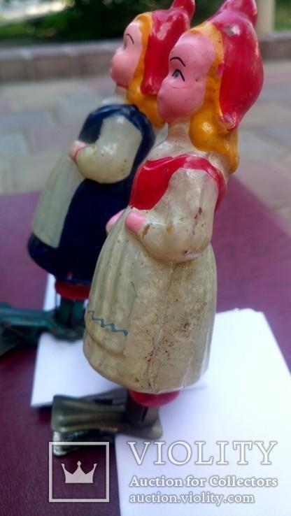 Елочная игрушка Девочка с корзинкой, Красная шапочка, фото №6