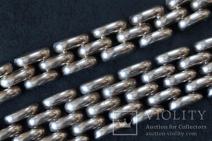 Колье и браслет Серебро 925. 77 грамм, фото №12