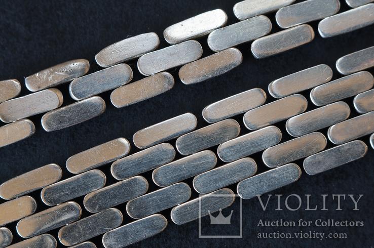 Колье и браслет Серебро 925. 77 грамм, фото №13