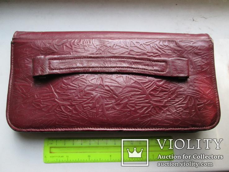 Женская сумочка кожаная 1958г., фото №3