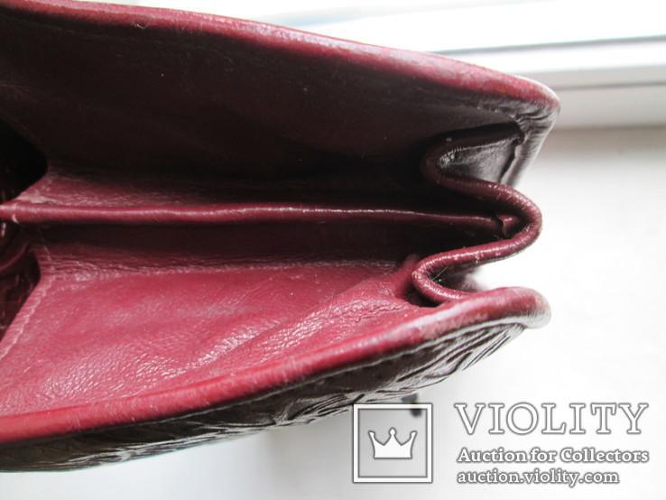 Женская сумочка кожаная 1958г., фото №6
