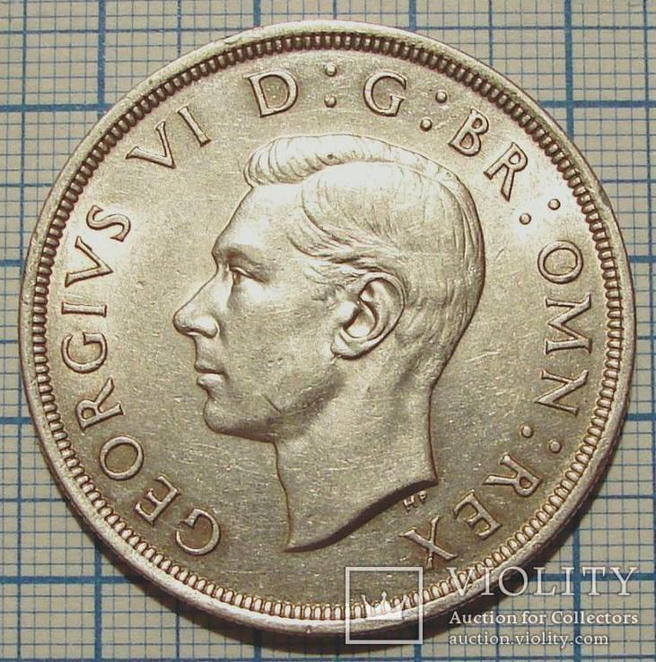 Великобритания  крона 1937г коронация Георга VI