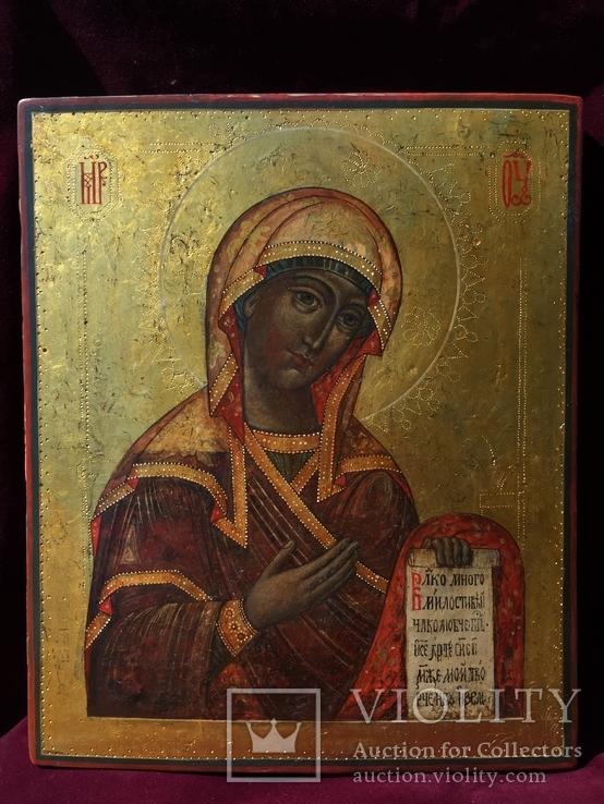Богородица из Деисусного чина, фото №2