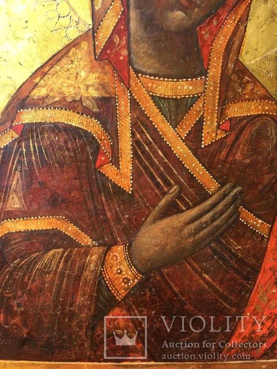 Богородица из Деисусного чина, фото №5