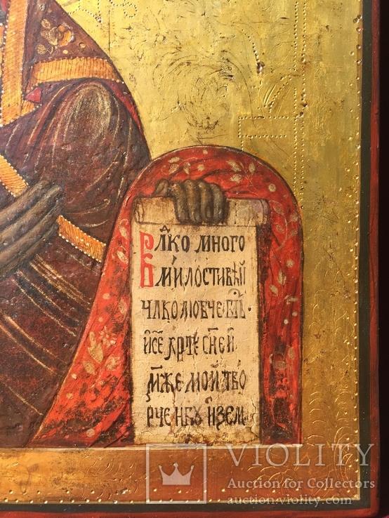 Богородица из Деисусного чина, фото №8